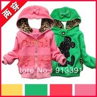 2013 new girls Mickey wear sweater coat, fashion sweater, free shipping