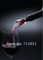 FREE SHIPING 12pcs/lot Brand New White & RED WINE AERATOR Decanter Pourer IMPROVE FLAVOR For whisky