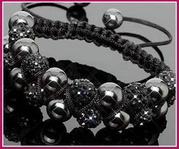 Free Shipping!10mm handmade New Style Disco Ball Beads men crystal shamballa bracelet . fasion women jewelry  wholesale!