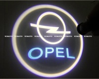 Free Shipping High Power car ghost light LED Car Logo With Names Welcoming Light With Laser light CREE LED For Opel