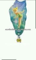 Shape helium balloon tinker bell balloon
