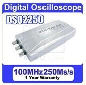 Hantek DSO-2250 Digital Oscilloscope USB 2.0 PC Oscilloscope 100MHz 250MS/s 2 Channels