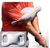 2014 New Arrival Direct Selling Yes Swing Trainer Golf Trainer Inflatable Fixed Arm Swing Gesture, White