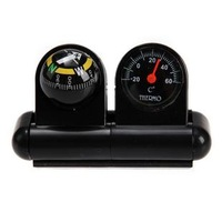 mini auto compass thermometer ball north guide no digital car compass ball compass Navigation 1002