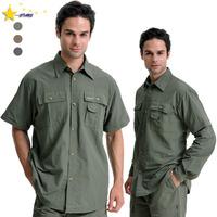 Male quick-drying shirts anti-uv breathable shirt outdoor sun long short-sleeve sportswear