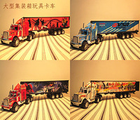 Toy tractors container truck toy car cars