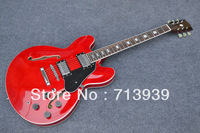 free shipping Wholesale price  -  new arrival  G-USA 335 model red Semi Hollow electric guitar