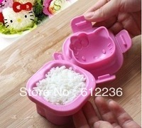 Hot Selling Super Cute Hello Kitty Rice ball mould baby appetite treasure DIY mould for rice egg mould safety but novelty