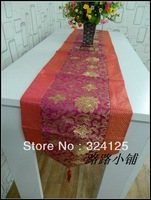 Free shipping 10pcs high quality 180cm x 33cm elagance  table runners classical table colth 2 color in