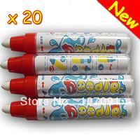 New arrival 20 Aqua doodle Aquadoodle Magic Drawing Pen Water Drawing Pen Replacement Mat Free Shipping