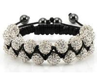 New Style! Free Shipping!10mm handmade  Disco Ball Beads men FGTI crystal shamballa bracelet . fasion women jewelry  wholesale!