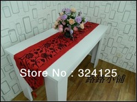 Free shipping chinese style high quality 180cm x 33cm elagance  table runners classical table cover 2 color in