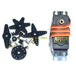 FREE SHIPPING 10PCS/LOT TowerPro MG995 13KG Metal Gear High Torque Servo for HPI XL Helicopter /Car /Boat(China (Mainland))