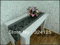 Free shipping 5pieces high quality 180cm x 33cm elagance  table runners classical table cover 2 color in