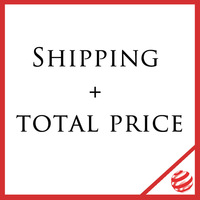 Shipping + total price (Reddot)