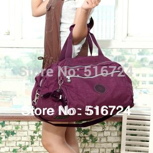 Large-capacity portable travel bag  women shoulder bag travel package