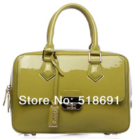Hot Specials Oppo bags fashion japanned leather preppy style vintage handbag cross-body women's handbag 2013