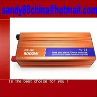 Hot Sell, Peak Power 12000W DC24V or DC48V 6000W/6KW Pure Sine Wave Inverter