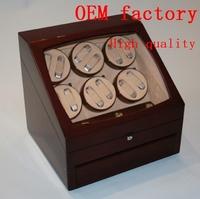 WB3501  gift box  jewelry box  WATCHWINDER SINGLE SLANTED DRK  WOOD WATCH WINDER