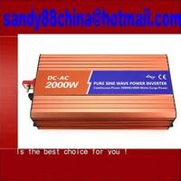 Fedex freeshipping! 2000W/2KW pure Sine Wave Power Inverter, 4000w Peak power inverter