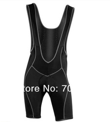 Free Shipping 2013 New Men's Cycling Bib Shorts 3D GEL Padded Bike / Bicycle Braces Pants Size:M-XXL(China (Mainland))