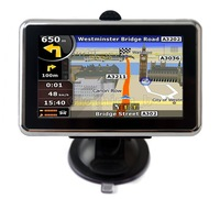 "Built-in 4GB 4.3"" GPS MP3/4+Video Player*FMT* New Map CE5.0"