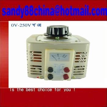 TDGC2 TSGC2 Series of Contacts Regulator  1x TDGC2-1KVA Contact type Voltage...