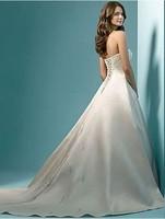 Free Shipping Crystal Beaded Bridal Gown Off Shoulder Bridal Wedding Dress