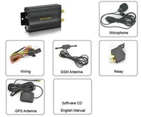 COBAN TK103A Vehicle/Car GPS tracker GPS103 Car Alarm Quad-band SD card slot PC&website GPS tracking system