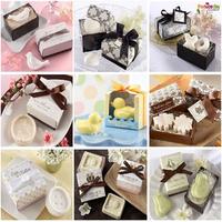 Free ship!16pc!Creative wedding gift / gift box packaging / mini soap