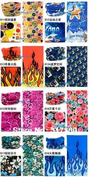 Wholesale Multi-Scarf 400 Designs Sports Mens Headbands Fashion Mask Balaclava Scarf Men &  Women Unisex Scarfs 100% Polyester