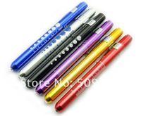 Medical pen light with the scale aluminum alloy mini-light LED 100/lot
