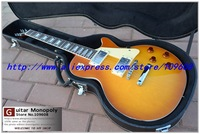 Wholesale New Musical Instruments Custom 1960s Vos Plain Top Electric Guitar EMS free shipping  with hard case
