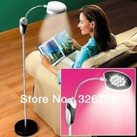 Free Shipping! 30pcs/lot Cordless Reading Lamp Flexible Anywhere Reading Light Energe Saving Lamp