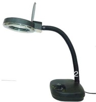 Desk lamp magnifier, glass5X/10X