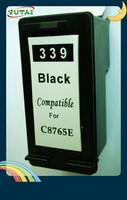 Free Shipping Remanufactured printer inkjet cartridges for HP339 C8767E