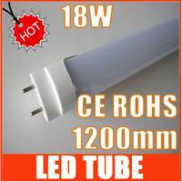 18W LED Tube T8 1200mm 4 Feet led light CE ROHS HOT SALE Free shipping