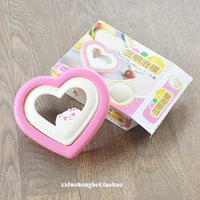 Heart sandwich toast bread shear modulus love bentos diy