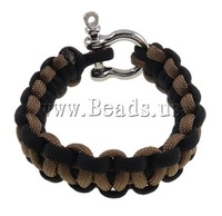 Free Shipping fashion 20mm paracord bracelet style nylon cord zinc alloy buckle Survival Bracelets new style jewelry 2013