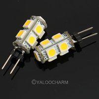 12PCS 1.8W 145-Lumen 9SMD 3500K LED Light Pure/Warm White Bulb Lamp DC 80168/80169 Free Shipping