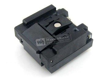 QFN48 MLP48 MLF48 QFN-48(56)BT-0.5-01 Enplas QFN 7x7 mm 0.5Pitch IC Test Burn-In Socket with Ground Pin