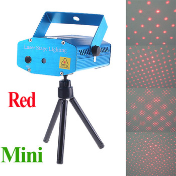 Mini laser Stage Light Flash Disco DJ Party Club Red Moving Party Laser Projector AC 110-240V wholesale
