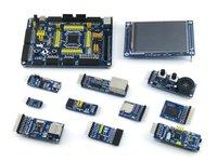 Open103V Package B # STM32F103VET6 STM32F103 STM32 ARM Cortex-M3 Development Board +10pcs Accessory Modules
