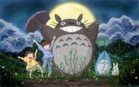 """07 my neighbor totoro cartoon movie 22""""x14"""" Poster"""