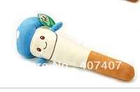 Free shipping  Plush cartoon beat back bar knock back bar massage stick plush toys creative birthday present 34CM