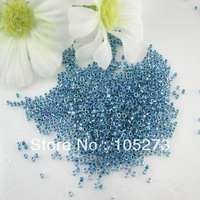New Free Shipping Miyuki Delica Seed Beads 2mm Marine Blue Lined Crystal AB Color 8g/lot Wholesale