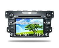 """YOKOTRON"" 7"" Touch TFT Car Radio  DVD Player for Mazda CX-7 +Ipod+GPS"