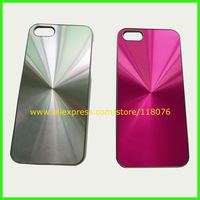 1000PCS/LOT,High Quality For iPhone 5 Hard Case,Stylish CD Line Aluminium Case Cover For iPhone 5 5G + DHL Free Shiping