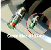 1 Set New Car Tyre Tire Pressure Monitor Indicator Valve Stem Cap Sensor 3 Color Eye Alert, 2.4bar 2.2bar 2.0bar available