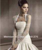Wholesale-free delivery packaging wave long sleeve lai ROM dance music shrugged jacket wedding dress custom